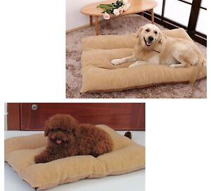 Large Dog Bed Mat Fleece Breathable Medium Home Indoor Pillow Accessories