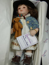 "DUCK HOUSE Heirloom Edition Doll KIRSTEN Certificate of Authenticity 11"" Tall"