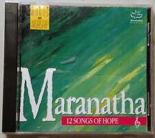 CD A Maranatha Music Singers Twelve 12 Songs of Hope 1989 Christian gospel