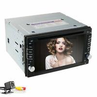 "6.2"" 2din Car DVD CD Audio video Player Stereo Map/GPS/Radio SWC DAB+ USB Camera"
