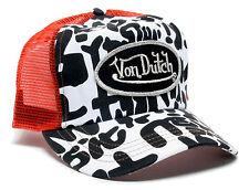 VON van DUTCH MESH TRUCKER BASE CAP [GRAFFITI] MÜTZE BASECAP KAPPE HAT HUT RED