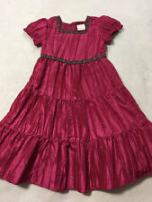 Hanna Andersson 120 6 7 Pink Light Of The Moon Taffeta Crinkle Party Dress