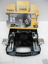 DEWALT DT8270L 11PCE LONG LIFE QUICK CHANGE HOLESAW SET