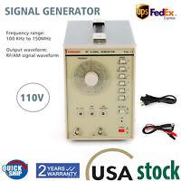 Signal Generator high frequency signal generator RF (radio-frequency) TSG17 110V
