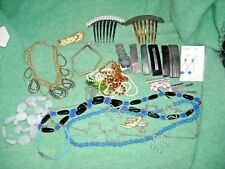 necklaces bracelets tie tack hair barrettes pins earring  fossil watch angel pin