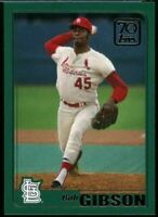 2021 Topps Series 1 70 Years of Topps #70YT-51 Bob Gibson St. Louis Cardinals