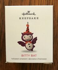 Hallmark 2018 Miniature Halloween Ornament ~ Bitty Bat ~ New