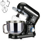 Electric Stand Mixer 5.8QT 6 Speed Control with Stainless Steel Mixing Bowl Food