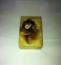 Boney Skull Hard Plastic Cigarette Case Kings Push Flip Up Top Nwt
