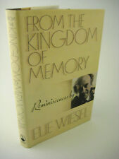 1st/1st Printing From The Kingdom Of Memory Elie Wiesel Classic Nobel Peace Prz