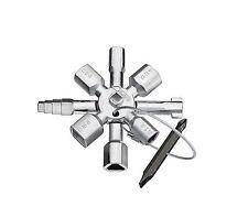 KNIPEX Clé de Coffret électrique TwinKey pour armoires standard et