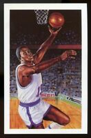 1992-93 Center Court #50 Willis Reed /10,000 Collectible Post Card