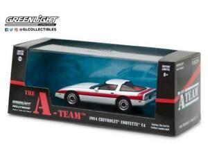 The A Team Face 1984 Chevrolet Corvette C4 1:43 Scale Greenlight 86517
