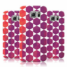 DYEFOR GEOMETRIC COLOURFUL DESIGN 15 CASE COVER FOR SAMSUNG GALAXY MOBILE PHONES