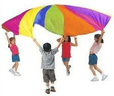 Parachute Kids Active Play Outdoor Game Teamwork Exercise 6' Ft. & Carry Case