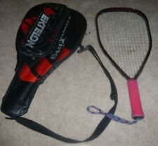 Ektelon Helix Graphite Racquetball Racquet And Carring Case