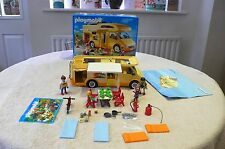 PLAYMOBIL 3647 CAMPER VAN - COMPLETE WITH ALL ACCESSORIES - EXCELLENT CONDITION