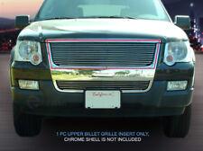 For 2006-2007  Ford Explorer Black Billet Grille Grill Upper Insert Fedar