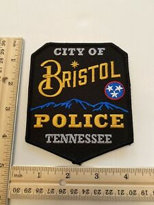 Bristol Police (Tennessee) New Shoulder Patch