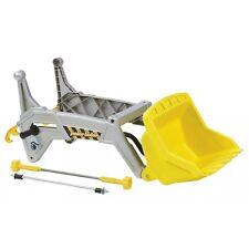 Rolly TOYS rollyjunior cargador frontal cargador räumschild escudo plata/amarillo