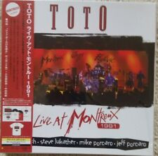 TOTO - LIVE AT MONTREUX 1991 JAPAN BLU-RAY + CD + 2 LP + T-SHIRT NEU