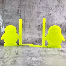 Penguin Bookends - 3D Printed - Nursery Decor - Children's Bedroom - Gifts boys