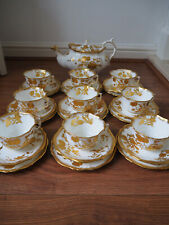 HAMMERSLEY GOLD 11657 PATTERN  TEASET
