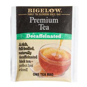 Bigelow Premium Decaffeinated Tea Bags 48 Per Order, NO BOX