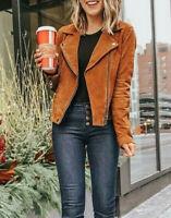 BlankNYC Suede Moto Jacket in Spice $254,Blank NYC