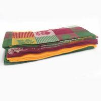 Set of 15 Harvest Woven Cotton Kitchen Dish Towels
