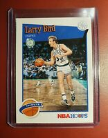 2019-20 NBA 🏀 PANINI Hoops 'Tribute' Card - Larry Bird - Celtics in mint cond..
