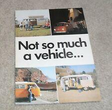 Volkswagen VW T2 Devon Camper Caravan Brochure - Moonraker & Sundowner 1978-1979