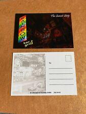 Rainbow Bar And Grill Hollywood  Postcard