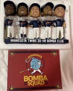 Minnesota Twins SGA Bomba Squad bobblehead 2021 SGA Cruz Kepler Rosario Sano