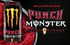 Monster Energy PUNCH 500ml Dose Voll Ohne Dellen Sammler !!Extrem Selten!!