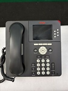 *LOT OF 10* Avaya 9640G 6 Line Office Digital IP Telephone, Handset and Stand NM