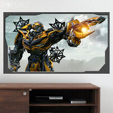 Transformer Bumblebee Wall decal wall sticker wallpaper Children decal