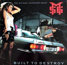 The Michael Schenker Group / MSG - Built To Destroy - Vinyl LP 33T