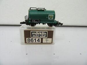 """Z - Marklin 8614 Tank Car """"BP""""  - LNIB *4"""