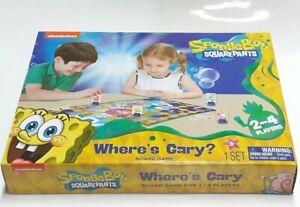 Brand new sealed Spongebob Squarepants Board Game Where's Gary? Hard To Find