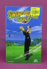INSTRUCTION BOOKLET/MANUAL ONLY FOR SWING AWAY GOLF PS2 (NO GAME) 😎OZ SELLER😎
