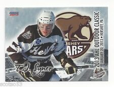 2012-13 AHL Outdoor Classic T.J. Syner (Worcester Railers)