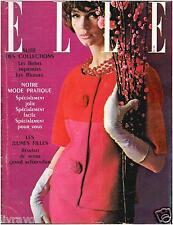 ▬►Elle 794 de 1961 Bourvil_Guétary_ Mode Haute-Couture Fashion Vintage