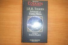 TOLKIEN, SEÑOR DE LA TIERRA MEDIA, BIBLIOTECA TOLKIEN, PLANETA EN TAPA DURA.