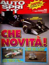 Autosprint 50 1993 Lotus -Mugen in pista. Prime foto di Sainz sulla Subaru SC.54