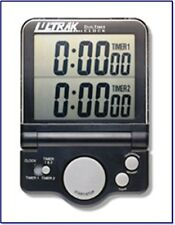 "Ultrak T-4 Dual Timer-Clock Hugh 1"" Jumbo Display New!"