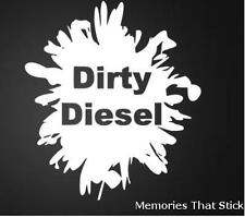 DIRTY DIESEL Funny Car Window Bumper 4x4 JDM EURO VW DUB Vinyl Decal Sticker