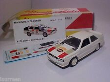 Audi Quattro San Rémo 1981 Solido 1/43 Diecast Mint in Numbered Box