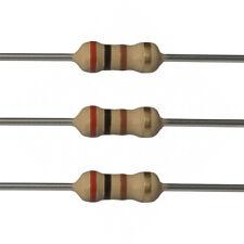 100 x 200 Ohm Carbon Film Resistors - 1/4 Watt - 5% - 200R - Fast USA Shipping