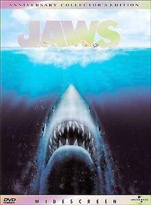 Jaws DVD Steven Spielberg(DIR) 1975